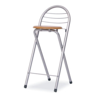 Barová židle BOXER buk / chrom Tempo Kondela