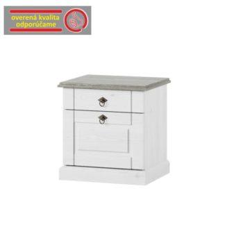 Noční stolek LIONA bílá Tempo Kondela