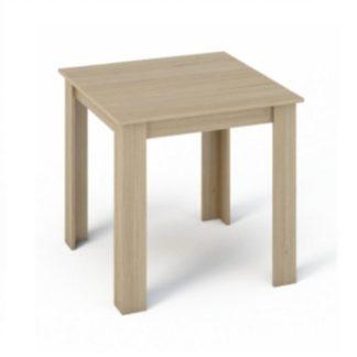 Jídelní stůl 80x80 KRAZ dub sonoma Tempo Kondela