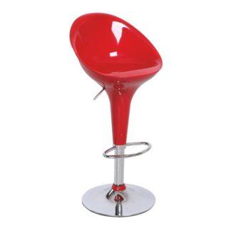 Barová židle ALBA NOVA červená Tempo Kondela