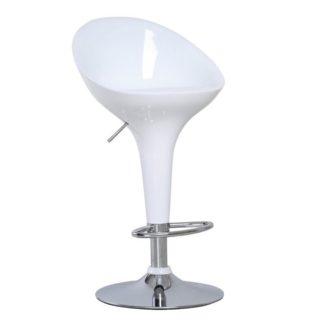 Barová židle ALBA NOVA bílá Tempo Kondela