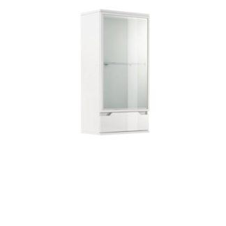 Závěsná vitrína ADONIS AS 08 bílá lesk  Tempo Kondela