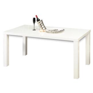 Jídelní stůl 120 ASPER Typ 2 bílá lesk Tempo Kondela