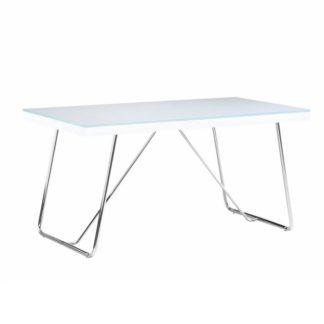 Jídelní stůl AMI tvrzené sklo / kov Tempo Kondela