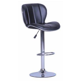 Barová židle DUENA černá Tempo Kondela