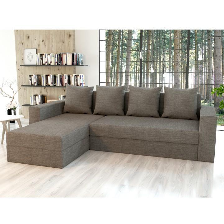 Univerzální sedací souprava, cappuccino, TOBIAS 0000188984 Tempo Kondela