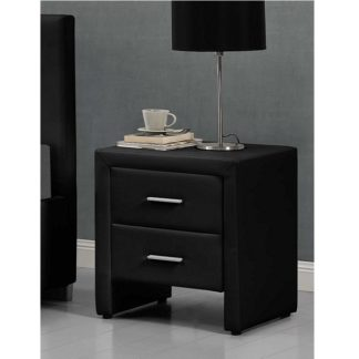 Noční stolek CASTEL černá Tempo Kondela