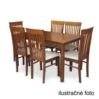 Jídelní stůl 110 ASTRO ořech Tempo Kondela