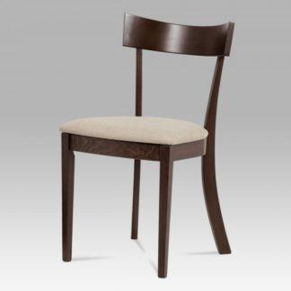 Jídelní židle BC-3333 WAL ořech / krém Autronic