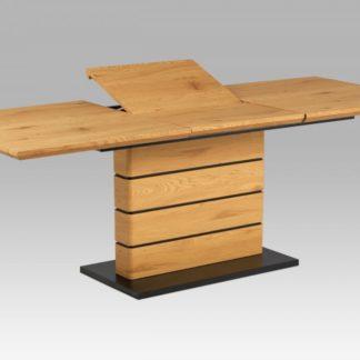 Jídelní stůl HT-705 OAK divoký dub / černá Autronic