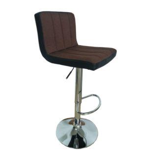 Barová židle HILDA hnědá / černá Tempo Kondela