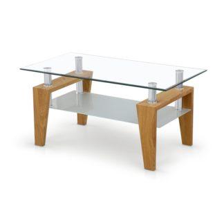 Konferenční stolek BETTY zlatý dub Halmar