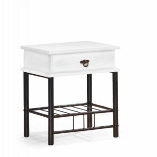 Noční stolek Fiona bílá Halmar