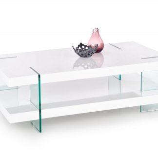 Konferenční stolek INFERO bílý Halmar