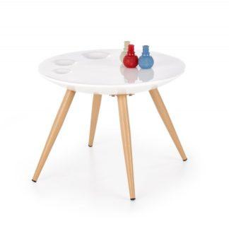 Konferenční stolek MARITA bílá Halmar