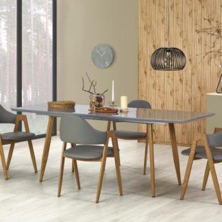 Jídelní stůl rozkládací RUTEN šedý Halmar