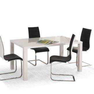 Jídelní stůl rozkládací 140/180 RONALD bílý Halmar