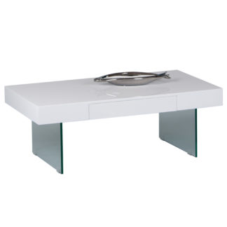 Konferenční stolek DAISY 2 NEW bílý Tempo Kondela