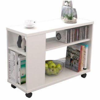 Odkládací stolek ZOELA NEW bílá Tempo Kondela