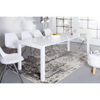 Jídelní stůl ASPER NEW TYP 1 bílá vysoký lesk HG Tempo Kondela