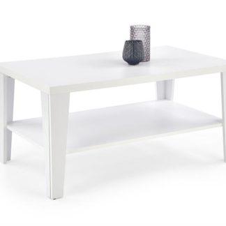 Konferenční stolek MANTA obdélník bílá