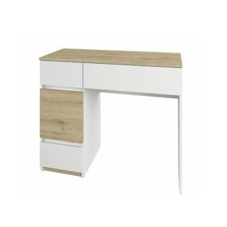 Toaletní stolek LEIRA dub wellington / bílá Tempo Kondela