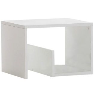 Odkládací stolek VOLKER bílá Tempo Kondela
