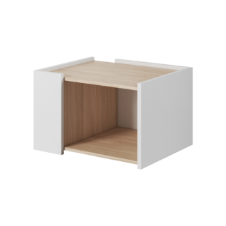 Konferenční stolek LUIS dub jantar / bílý mat Tempo Kondela