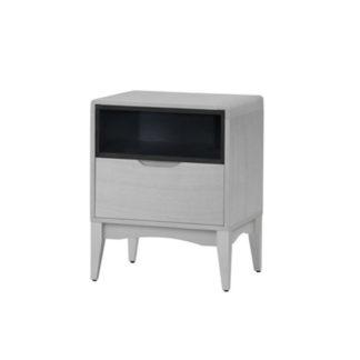 Noční stolek ADORE šedá vintage /černá Tempo Kondela