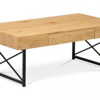 Konferenční stolek AHG-384 OAK divoký dub / černá Autronic