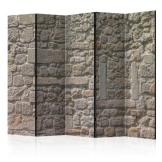 Paraván Stone Temple Dekorhome 225x172 cm (5-dílný)