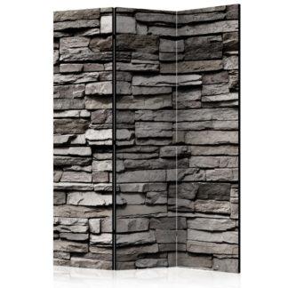 Paraván Stony Facade Dekorhome 135x172 cm (3-dílný)