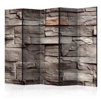 Paraván Wall of Silence Dekorhome 225x172 cm (5-dílný)
