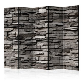 Paraván Stony Facade Dekorhome 225x172 cm (5-dílný)
