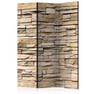 Paraván Decorative Stone Dekorhome 135x172 cm (3-dílný)