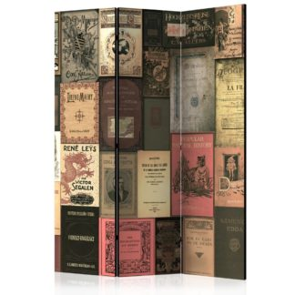 Paraván Books of Paradise Dekorhome 135x172 cm (3-dílný)