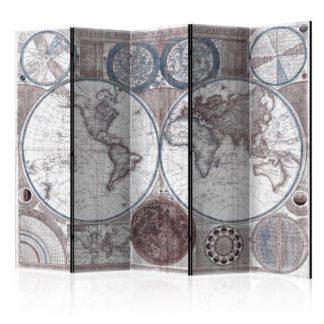 Paraván Terraqueous Globe Dekorhome