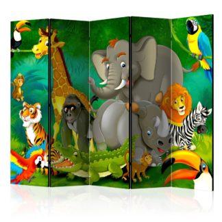 Paraván Colourful Safari II Dekorhome