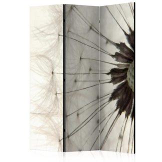 Paraván White Dandelion Dekorhome 135x172 cm (3-dílný)