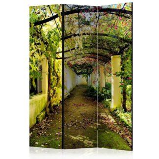 Paraván Romantic Garden Dekorhome 135x172 cm (3-dílný)