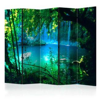 Paraván Kursunlu Waterfalls Dekorhome 225x172 cm (5-dílný)
