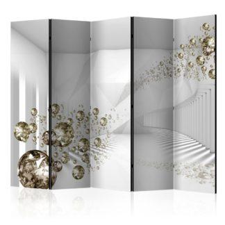 Paraván Diamond Corridor Dekorhome 225x172 cm (5-dílný)