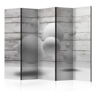 Paraván Balls Dekorhome 225x172 cm (5-dílný)