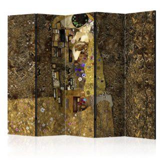 Paraván Golden Kiss Dekorhome 225x172 cm (5-dílný)