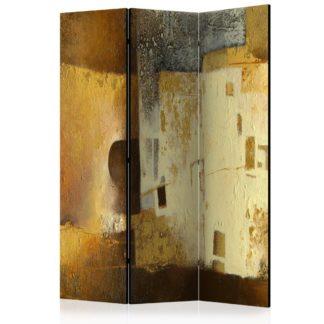Paraván Golden Oddity Dekorhome 135x172 cm (3-dílný)
