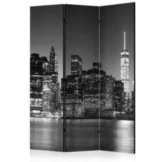 Paraván New York Nights Dekorhome 135x172 cm (3-dílný)