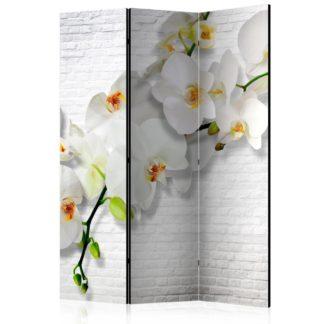 Paraván The Urban Orchid Dekorhome 135x172 cm (3-dílný)