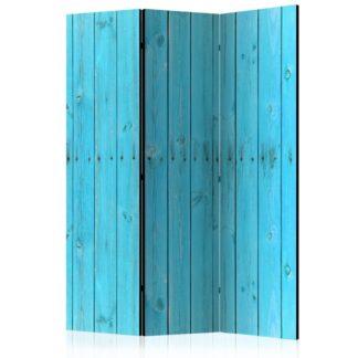 Paraván The Blue Boards Dekorhome 135x172 cm (3-dílný)