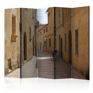 Paraván Summer in Mallorca Dekorhome 225x172 cm (5-dílný)