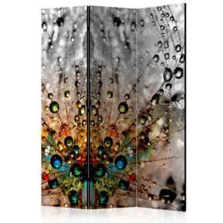 Paraván Enchanted Morning Dew Dekorhome 135x172 cm (3-dílný)